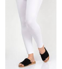 White Tights Easy To Use Stretchable