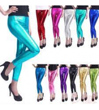 Matellic Tights For Womans