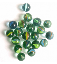 Pack Of 25 Pcs-Glass Decorative Marbles Bead Gift For Any Kids
