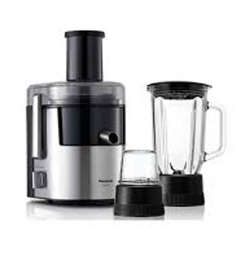 Panasonic Juicer Blender MJ-DJ31 - Black & Silver