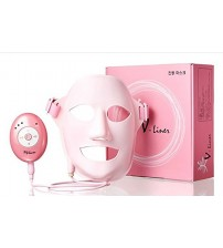 V-Liner Mask Auto 3D Vibration Acupressure Massage Facial Mask V-Liner Anti Aging Wrinkle