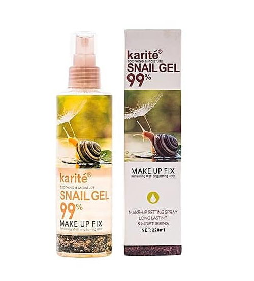 Snail Gel Makeup Setting Spray By karite