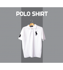 COMFORTABLE White POLO T SHIRTS FOR MENS