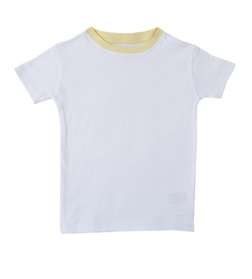 Short Sleeve Tee Shirt - White