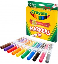 Crayola Marker colors for kids Painting
