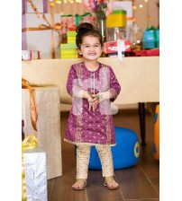 Beautigul Linen Dress For Girls