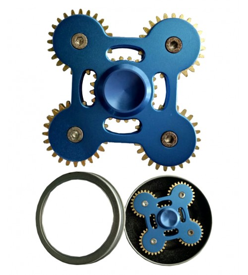 Hand Fidget Spinner (5 Gear Wheels)  - Premium Quality