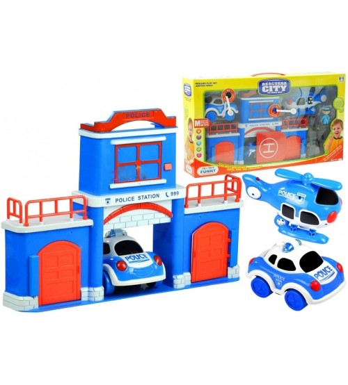 Fire Fighting Set for Children - with Fire Fighting Vehicles