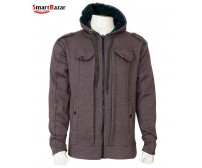 Hooded Softshell Jacket For Men