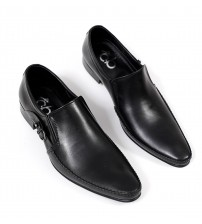 Black Men's Leather Formal Shoes
