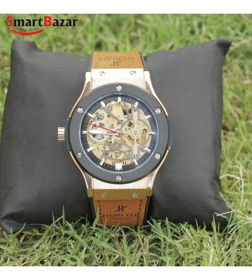 Skeleton Dial  Watch for Men