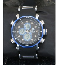 Blue Stylish  Watch For Men
