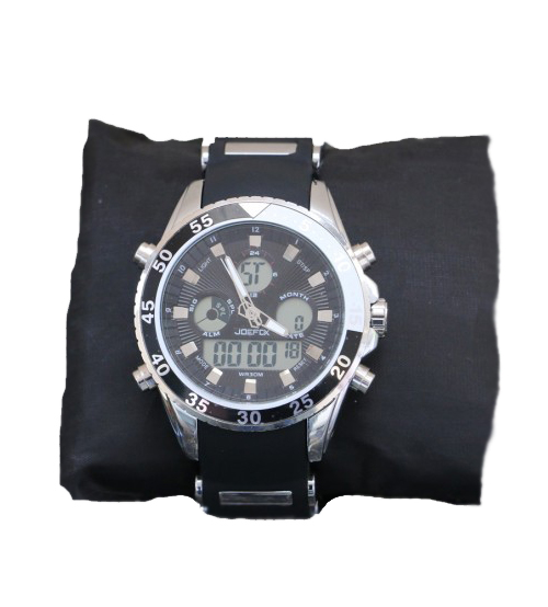 Silver stylish Men's watch