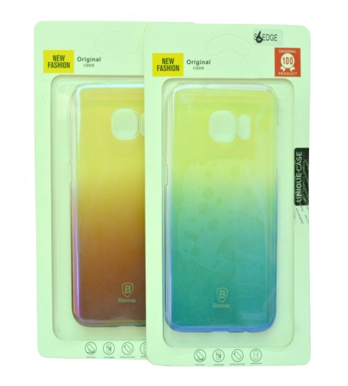 Samsung Galaxy S6 & S7 Edge Mobile Cover Lighter Style - Multi Color