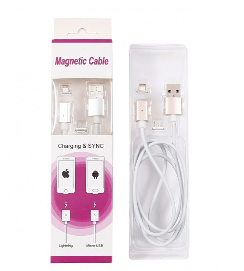 Magnetic Charging Cable For Both Android And IOS