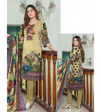 Beautifully Printed Suits with Linen stuff
