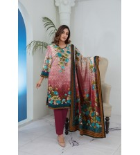 Beautiful linen suit with superb designs