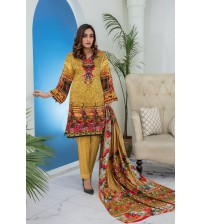 beautiful And Amazing Printed Linen Suit