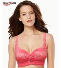 Embroidered Printed Comfort fancy Bra