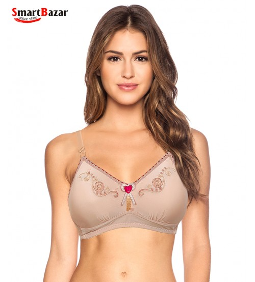 Comfort Full Cup Padded Bra For Ladies