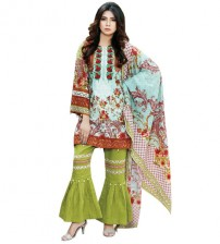 Emboriderd Khaddar Suit For Women's