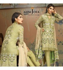 Chiffon Collection Master Piece Embroidered Suit