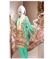Beautiful Embroidered Suit 4pcs Summer Collection