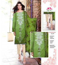 Lawn Suit With Chiffon Dupatta