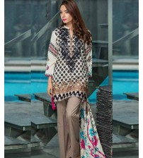 Lawn Suit Neck Embroidered New EID Collation