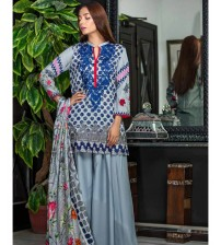 Lawn Suit Neck Embroidered EID Collation