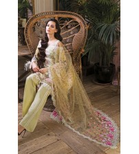 Lawn With Brosha Dupatta Front Patch