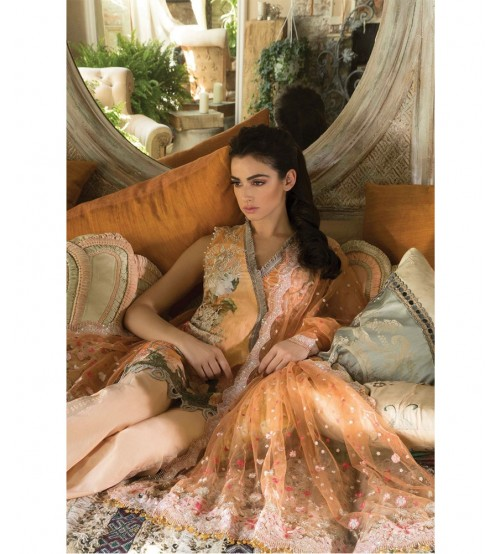 Lawn Collection  Brosha Dupatta Front Patch