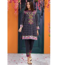 Unstiched Beautiful Lawn Suit With Chiffon Dupatta