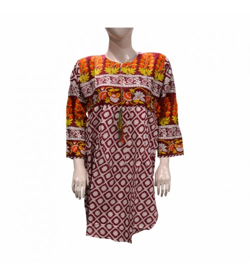 Beautiful Lawn Kurti For Women Digital printing
