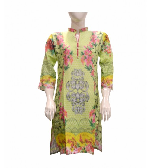 Lawn Printed Kurtis For Women