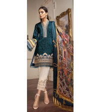 Embroidered New Lawn Suit For Women