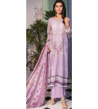 Lawn Suit For Women With Chiffon Duptta