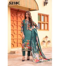 Latest Lawn Suit With Lawn Duppta