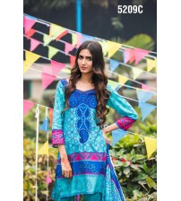 Stylish Lawn Suit With Lawn Duptta 2019