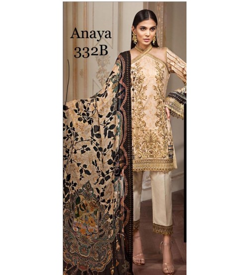New Style Lawn Suit With Chiffon Duppta
