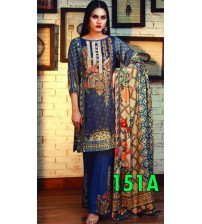 Stylish Embroidered Lawn Suit for Women