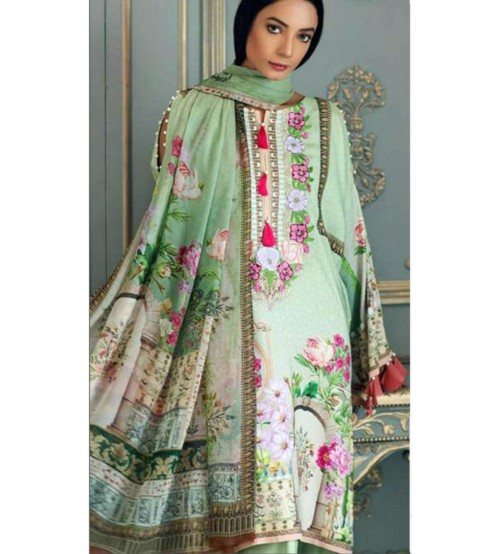 Fully Embroidered Lawn Suit
