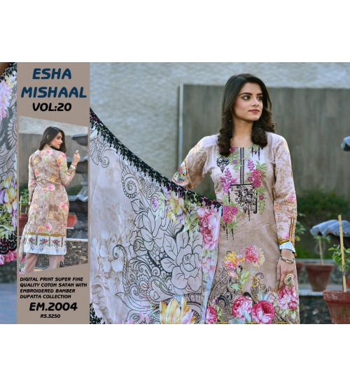 Buy  Digital Printed Lawn Suit For Women