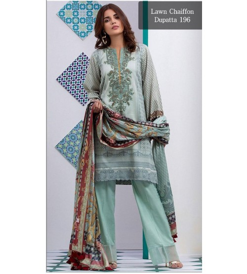 Stylish Lawn Suit For Women New Collection