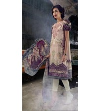 Maria B Embroidered lawn Suit For Women