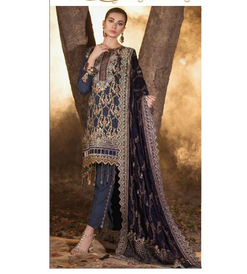 Embroidered Lawn Suit For Women