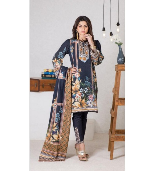 Full Embroidered Lawn Suit