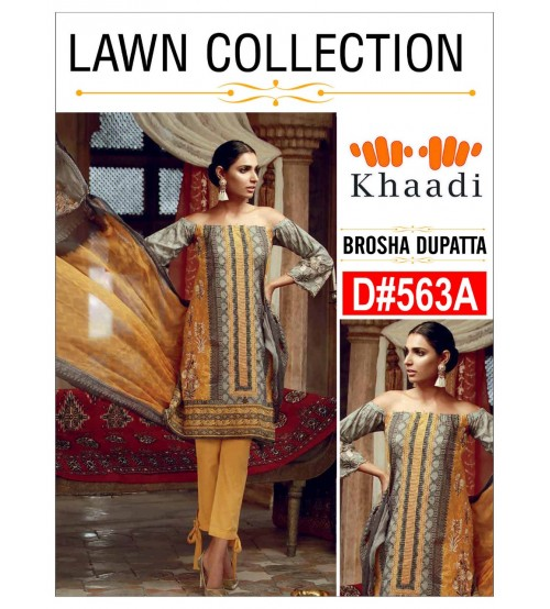 Buy Embroidered Lawn Suit on sale