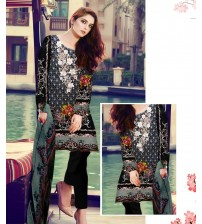 Black Lawn Suit New Summer Collation