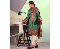 Beautiful Lawn With Chiffon Dupatta